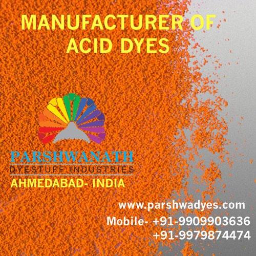 Acid Dyes Manufacturer, Water Soluable Acid Dyes, Acid Dyes